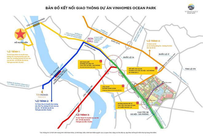 """Hạ tầng Gia Lâm hoàn thiện, Vinhomes Ocean Park trở thành """"điểm nóng"""" thị trường bất động sản 2020 - 2"""